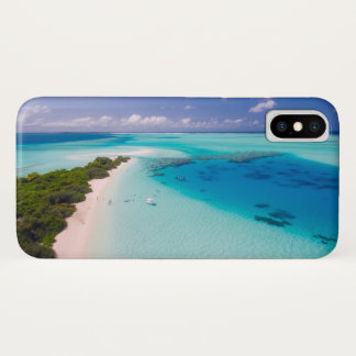 Maldives iPhone X barely there case