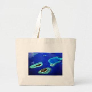 Maldives Large Tote Bag