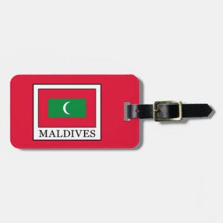 Maldives Luggage Tag