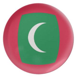 Maldives Maldive Islands Flag Plate