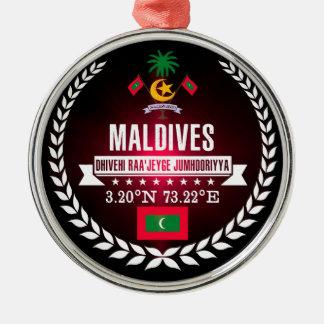 Maldives Metal Ornament