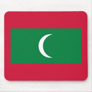 Maldives National World Flag Mouse Pad