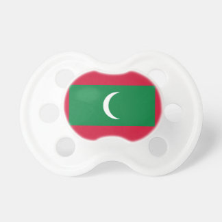 Maldives National World Flag Pacifier