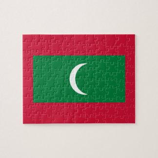 Maldives National World Flag Puzzles