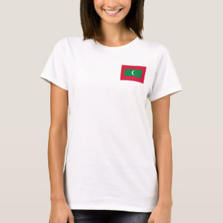 Maldives National World Flag T-Shirt