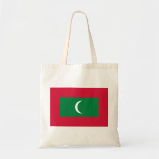 Maldives National World Flag Tote Bag