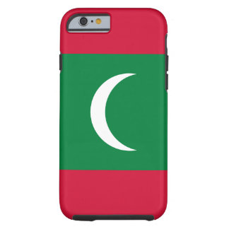 Maldives National World Flag Tough iPhone 6 Case