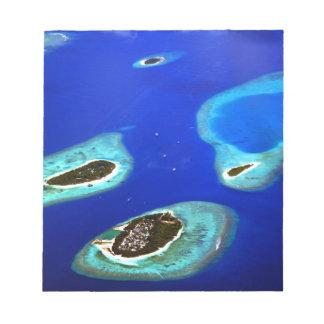 Maldives Notepad