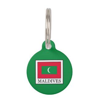 Maldives Pet Name Tag