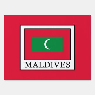 Maldives Sign