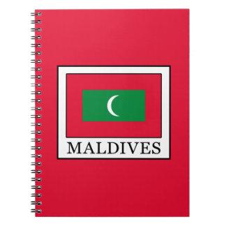 Maldives Spiral Note Books