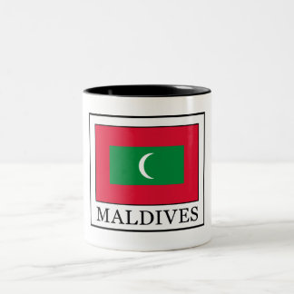 Maldives Two-Tone Coffee Mug