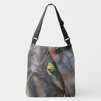 Male American Goldfinch Crossbody Bag