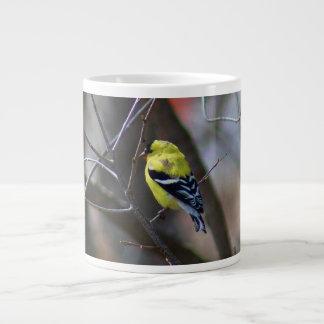 Male American Goldfinch Giant Coffee Mug