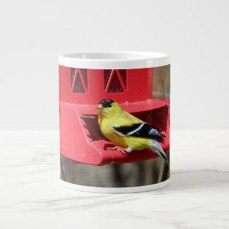 Male American Goldfinch III Giant Coffee Mug