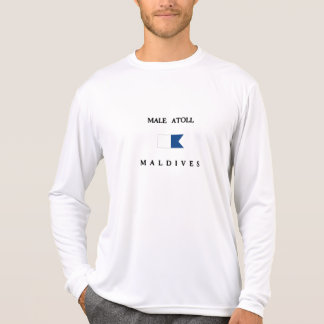 Male Atoll Maldives Alpha Dive Flag T-Shirt