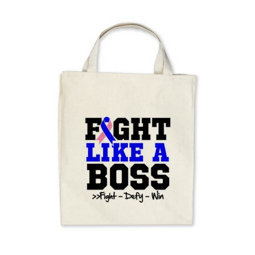 Male Breast Cancer Fight Like a Boss Bags