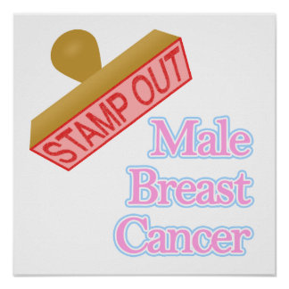 Male Breast Cancer Poster