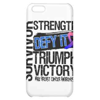 Male Breast Cancer Survivor Defy It iPhone 5C Covers