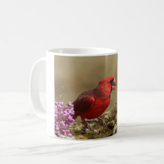 Male Cardinal in Spring Coffee Cup