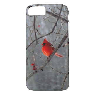 Male cardinal iPhone 7 case