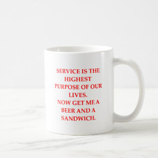 male chauvinist pig joke coffee mug