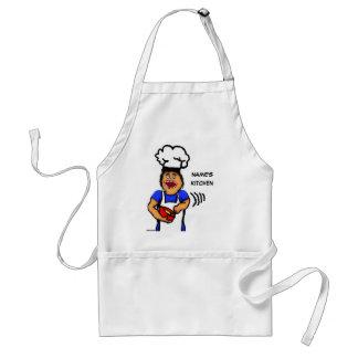 Male Cook Cartoon Standard Apron