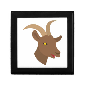 male cute goat face gift box