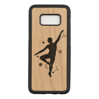 Male Dancer with Stars and Snowflakes Carved Samsung Galaxy S8 Case