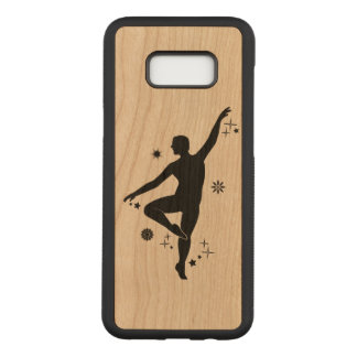Male Dancer with Stars and Snowflakes Carved Samsung Galaxy S8+ Case