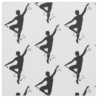Male Dancer with Stars Fabric