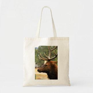 Male Elk Tote Bag