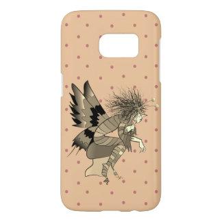 Male Fairy Girly Pink Polka Dots Fantasy Cute Chic Samsung Galaxy S7 Case