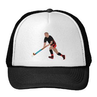 Male Field Hockey Player Trucker Hat