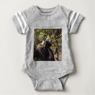 Male gelada baboon (Theropithecus gelada) Baby Bodysuit