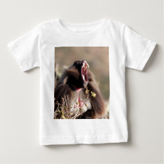 Male gelada baboon (Theropithecus gelada) Baby T-Shirt