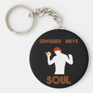 Male Gingers Have Soul Keychain