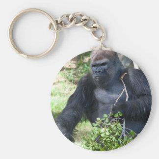 Male Gorilla Keychain
