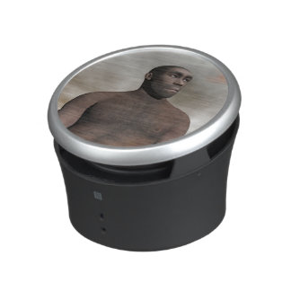 Male homo erectus - 3D render Bluetooth Speaker