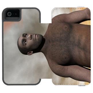 Male homo erectus - 3D render Incipio Watson™ iPhone 5 Wallet Case