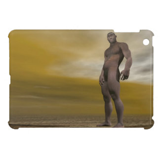 Male homo erectus - 3D render iPad Mini Cases