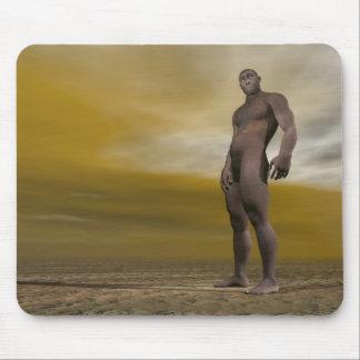Male homo erectus - 3D render Mouse Pad