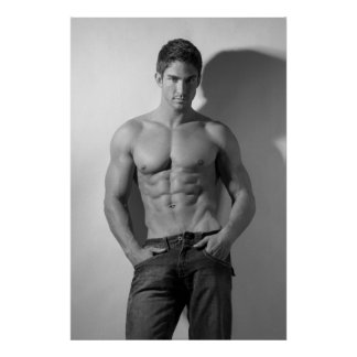 Male Hunk Poster #3000