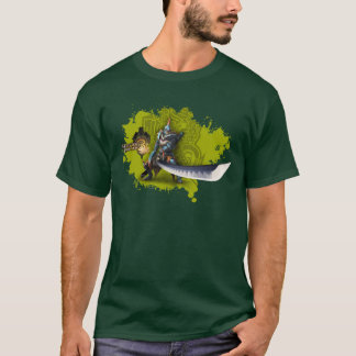 Male hunter with long sword & lagiacrus armor T-Shirt
