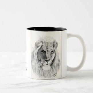 Male Lion Mug