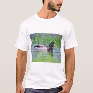 Male mallard duck floating on the water T-Shirt
