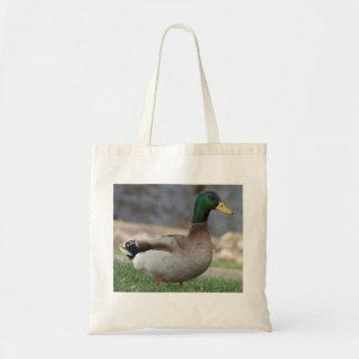 Male Mallard Duck Tote Bag