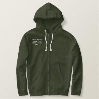 MALE NURSES EMBROIDERED HOODIE
