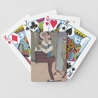 Male Pattern Baldness Humor Fun Old Playing Cards