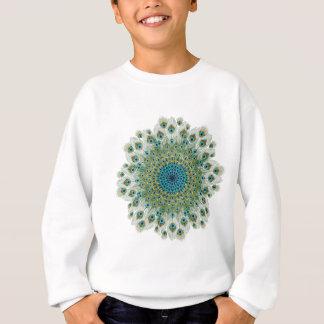 Male Peacock Colorful Mandala Sweatshirt